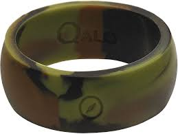 rubber wedding rings qalo rings s silicone wedding ring s sporting goods