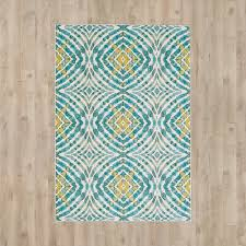 Teal Living Room Rug by Varick Gallery Sutton Place Teal Area Rug U0026 Reviews Wayfair