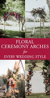 wedding arches etsy floral ceremony arches for every wedding style junebug weddings