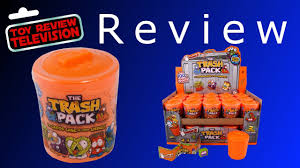 trash pack series 2 surprise trash cans toy review opening