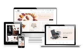 luxury ecommerce web design content creation for the food