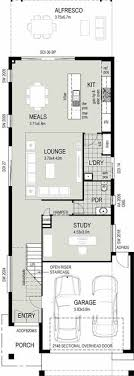 narrow house plans dual occupancy house plans search townhouses