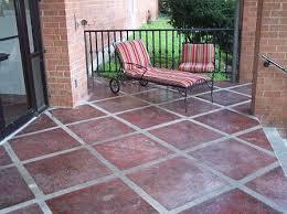 paint for patio diy painted concrete patio