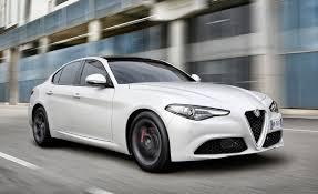 alfa romeo giulia interior first drive 2017 alfa romeo giulia u2013 review u2013 car and driver