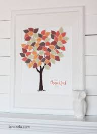 Thankful Tree Craft For Kids - thankful tree activity free printable thankful tree free