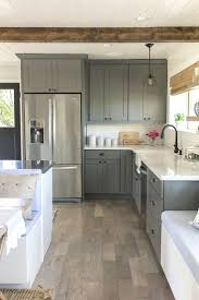 grey and white gloss kitchen gray kitchen cabinets with black