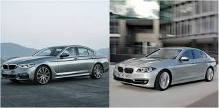 sadly the handsome new 2017 bmw 5 series looks exactly like the