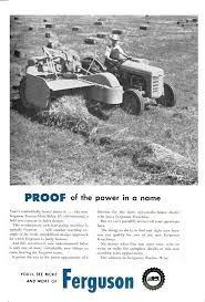 shortly after this advertisement for the ferguson beo 20 baler