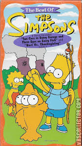 simpsons thanksgiving the best of the simpsons volume 5 vhscollector com your