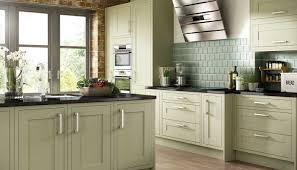Green Kitchens by Mesmerizing Olive Green Painted Kitchen Cabinets