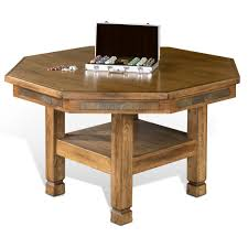 Coffee Table Converts To Dining Table by Convertible Poker And Dining Table Niagara By Howard Miller In