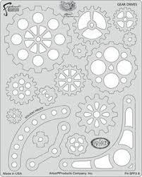 steampunk sets artool freehand airbrush templates steam punk fx 2
