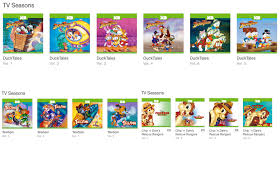 chip n dale rescue rangers disney afternoon favorites are currently on itunes oh my disney