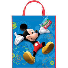 mickey mouse favor bags large plastic mickey mouse favor bag 13 x 11 walmart