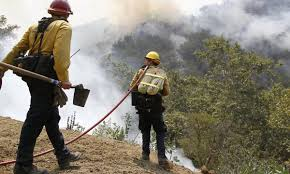 Wildfire Social Media App by Firefighters Gain Ground On Santa Barbara County Wildfire Nbc