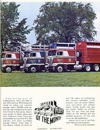 truck hub kenworth trucks photo october 1973 super truck 10 overdrive magazine october