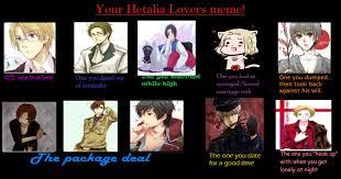 Lovers Meme - my hetalia lovers meme by shadoekat on deviantart