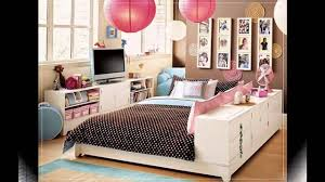 Decorating Ideas For Girls Bedroom by Cool Teenage Bedroom Ideas For Small Rooms Youtube