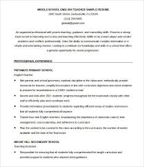resume format for fresher english teachers english teacher resume template eord format download how to make
