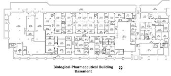 biological pharmaceutical building basement the university of
