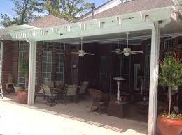 Pergola Ceiling Fan by Ranch Home Ideas Using Outdoor Ceiling Fan With Light And White