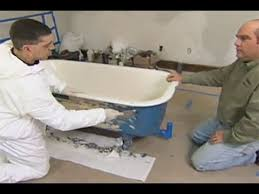Refinishing Old Bathtubs by How To Refinish A Claw Foot Tub This Old House Youtube