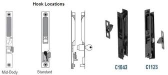 Patio Door Mortise Lock Replacement Handle Set And Lock Introduction And Selection Guide
