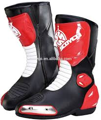 leather dirt bike boots red motorcycle boots red motorcycle boots suppliers and