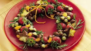 fruit dipped in chocolate chocolate dipped fruit wreath recipe tablespoon