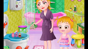 Baby Hazel Room Games - baby hazel bathroom hygiene top baby games youtube