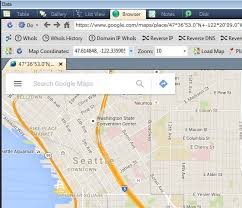 map using coordinates visualize geo data using maps services and ixtk siquest