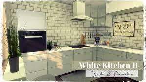 sims kitchen ideas white kitchen ii at dinha gamer sims 4 updates decoracion