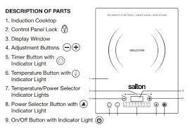 Induction Cooktop Power Salton Portable Induction Cooktop Best Induction Cooktop Guide