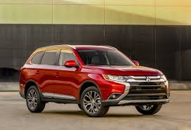 mitsubishi outlander sport 2014 red my16 mitsubishi outlander awarded top safety pick by iihs