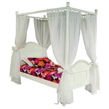 emma 4 post twin bed with tall headboard and footboard free