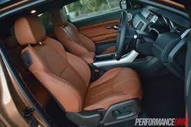 range rover evoque interior 2015 range rover evoque dynamic seats