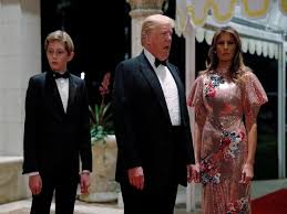 dresses to wear on new years melania gets trolled after wearing 4 000 dress on new year s