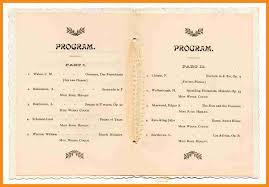ceremony programs template 5 program of the graduation ceremony laredo roses