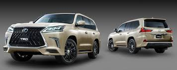 lexus jeep 2017 trd introduces aero kit for lexus lx 570 performancedrive