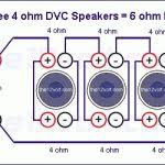 wiring diagrams intended for 4 ohm dual voice coil subwoofer