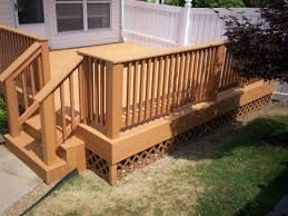 Low Cost Home by Building Composite Deck Railings Low Cost Patio Ideas Photos