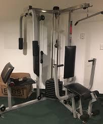 Weider Pro Bench Emmy U0027s Junk N Stuff Weider Pro 9940 Gym