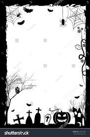 festive illustration on theme halloween wishes stock vector