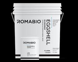 ecodomus eggshell romabio changing the way the world makes paint