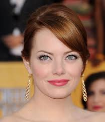 hairstyles for high forehead and fine hair side swept bangs and hairstyles celebrity side swept hair