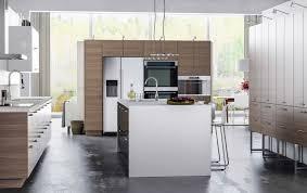 cuisine blanc et noyer a modern kitchen for nature ikea