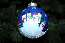 handprint snowman ornaments tattered n worn