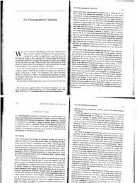 writing a historiography paper michel de certeau the historiographical operation