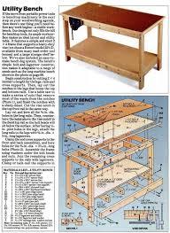garage workbench plans woodarchivist garage workbench plans