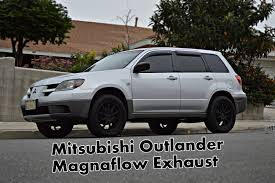 2017 mitsubishi outlander sport custom mitsubishi outlander magnaflow 14832 muffler exhaust youtube